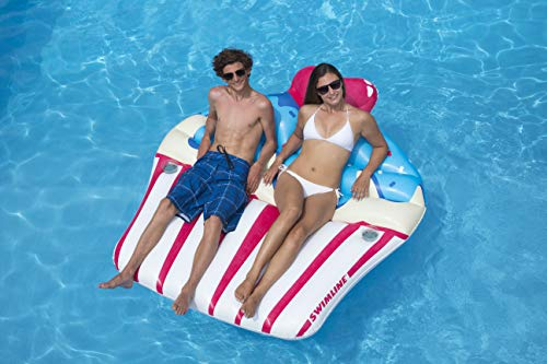 Best Swimline Lake Toys - Swimline Inflatable Sprinkle Cupcake Ride On