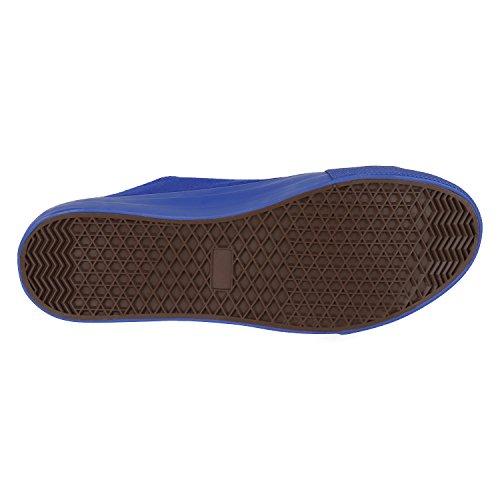 Freizeitschuhe napoli Glitzer Jennika Low Basic Unisex Sneaker Damen Turnschuhe Metallic Blumen Schuhe fashion Übergrößen Total Blau Herren Stoffschuhe S7zrwS