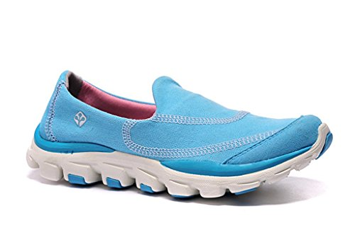senximaoyi Outdoor light travel shoes cloth shoes doug gym shoes,Blue,8