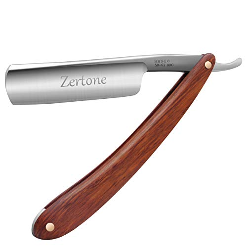 Straight Razor Natural Wood