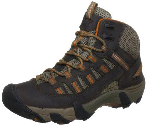 Keen ALAMOSA MID - Zapatillas deportivas para exterior de cuero nobuck mujer marrón - Braun (STBO)