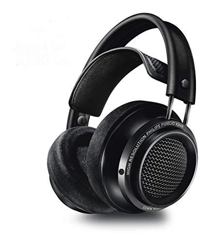 (Philips Fidelio X2HR Over-Ear Open-Air Headphone - Black)