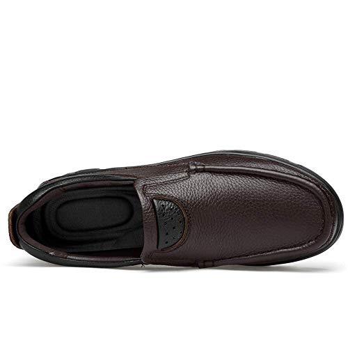 Scarpe 46 opzionale Eu Warm Taglia Marrone 2018 Colore comoda qualità e casual da Oxford Warm Velvet alta uomo alta Oxford Black gOZnwqUHd