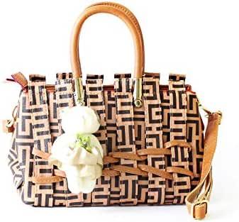 Lenz Top Handle Bag For Women - Multi Color, aM19-B072