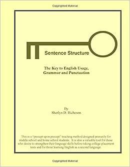 Sentence english download krohn ebook robert free structure