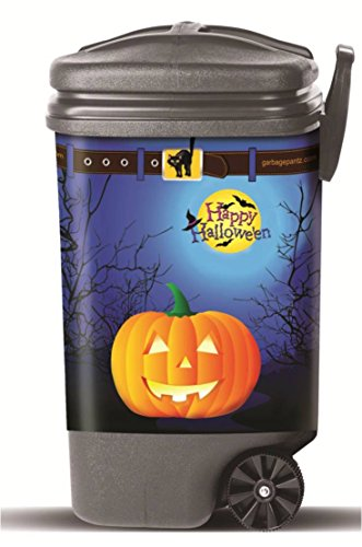(Garbage Pantz GP-Halo Halloween Trash Can Cover, 45 Gallon,)