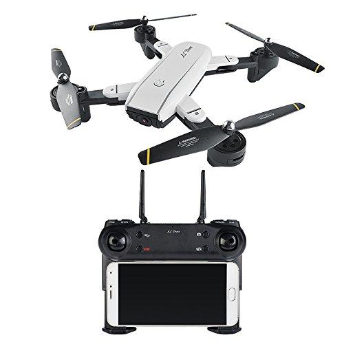 RaiFu ドローン RCクアドコプター WIFI HD ダブル カメラ付き安定性抜群 リモートコントロール ヘリコプター ジェスチャー写真 クアドラプター 子供のおもちゃ