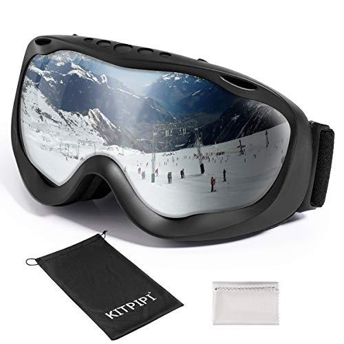 KITPIPI Ski Goggles for Women Men Kids Over...