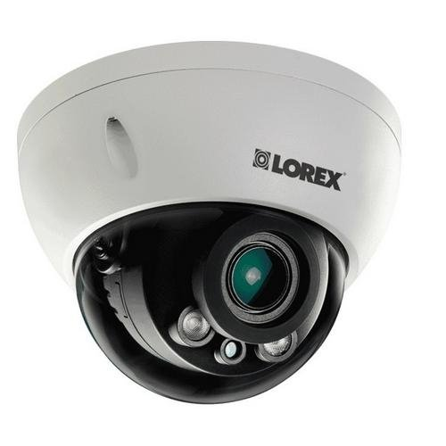 - Lorex LND3374SB 2K 3MP dome security camera with motorized varifocal lens