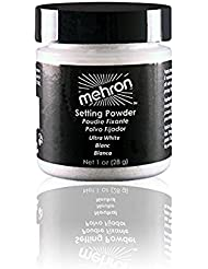Mehron Ultra Fine Setting Powder WHITE-1oz