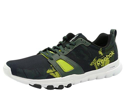 Reebok–Zapatillas de deporte para hombre Yellow Black
