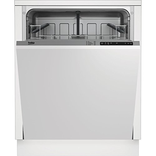 Beko DIN15R10 Fully Integrated Full Size 60cm 12 Place Dishwasher Silver