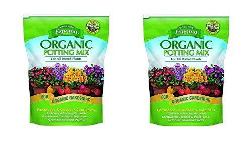 (Espoma AP8 8-Quart Organic Potting Mix (2 Pack - 8 Quart))