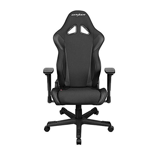 DXRacer OH/RW106/N Ergonomic, High Quality Computer Chair for Gaming, Executive or Home Office Racing Series Black For Sale