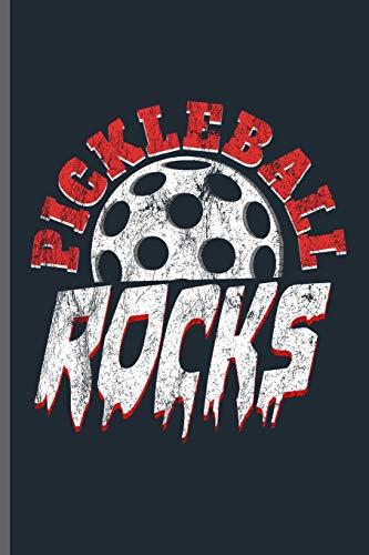 Pickleball Rocks: Pickleball sports notebooks gift (6