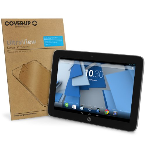 Cover-Up UltraView HP Slate 10 HD (10-inch) Tablet Anti-Glare Matte Screen Protector