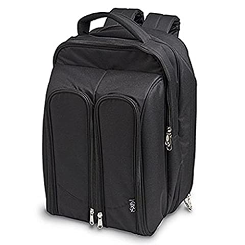 Epic Products Wine Picnic Backpack for Two, Black - Creek Cocktail