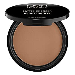 NYX PROFESSIONAL MAKEUP Matte Bronzer, Dark Tan
