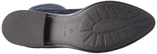 NR RAPISARDI Damen E703 Stiefel Blau (Navy Chamois/Black BOSTON)