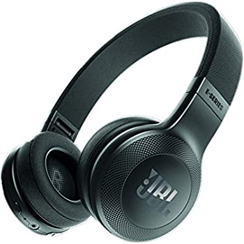 JBL E45BT On-Ear Wireless Headphones (Black)