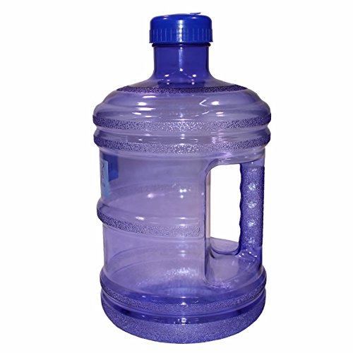CloudWorks BPA Free New Plastic Reusable H2O Water Bottle 1 Gallon Drinking Container 128oz, Jug, Juice, (128 Oz Jug)