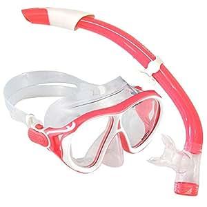 Aqua Lung Sc223111 Ivy Lx Snorkeling Diving Ladies Mask And Snorkel Set, Coral