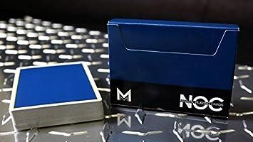Designer Deck Murphys Magic Alloy Cobalt Playing Cards Custom Design Decks Cool Collectable Cards Cards For Magicians Blue