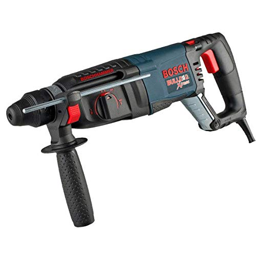 Factory-Reconditioned Bosch 11255VSR-RT BULLDOG Xtreme 1-Inch SDS-plus D-Handle Rotary Hammer (Certified Refurbished)