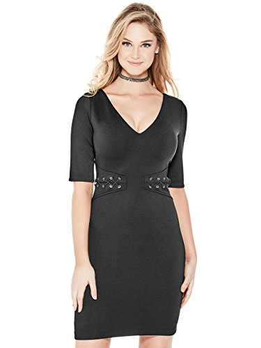 Guess Half Sleeve (GUESS Women's Natasha Half-Sleeve Dress)