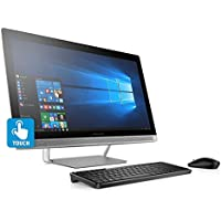 HP Newest Pavilion Flagship All-in-One FHD Touchscreen Desktop (23.8 inch) (Certified Refurbished)