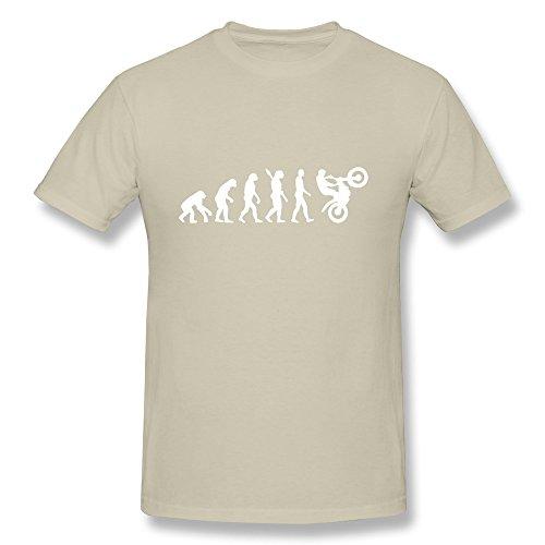 SNOWANG Men's Evolution Motocross T-shirt XL
