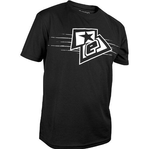 - Planet Eclipse T-Shirt - ELogo - Black/White - XS
