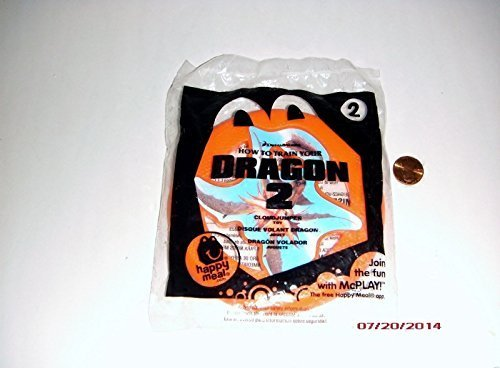 2014 McDonald's How to Train Your Dragon 2 Happy Meal Toy #2 Cloudjumper Mint New (2 Happy Meal Toy)
