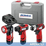 ACDelco ARD847Li Li-ion 8-Volt Drill+Impact+Flashlight 3-in-1 Combo Kit - Best Reviews Guide