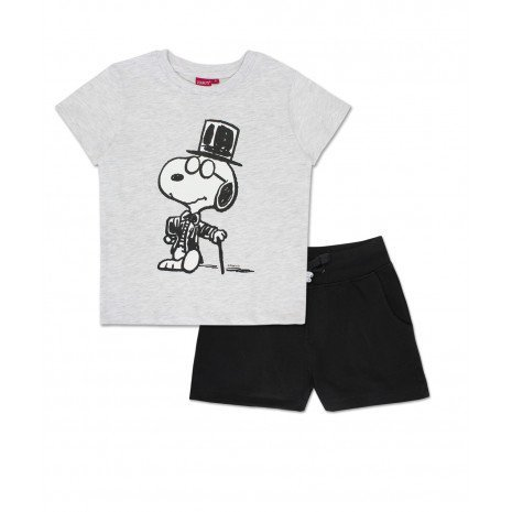 Snoopy Boys Clothing Set 2 Piece Kids Graphic T Shirt and Pants