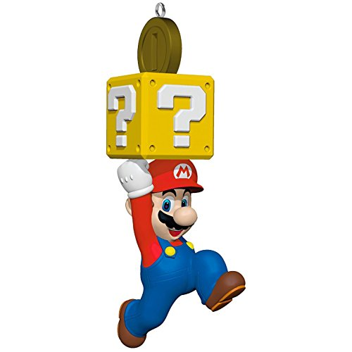 Hallmark Keepsake 2017 Super Mario Christmas Ornament (Collectible Christmas Ornaments Tree)