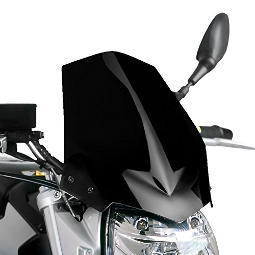 Saute vent Puig Suzuki GSR 600 06-12 noir