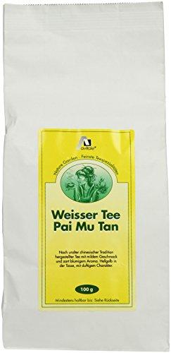 Avitale Weisser Tee, Pai Mu Tan, 100g, 2er Pack (2 x 100 g)