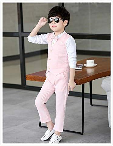 ボーイズ フォーマル スーツ - ロングパンツ 子供服 キッズ ジャケット ジュニア シャツ ネクタイ 卒業式 入学式 結婚式