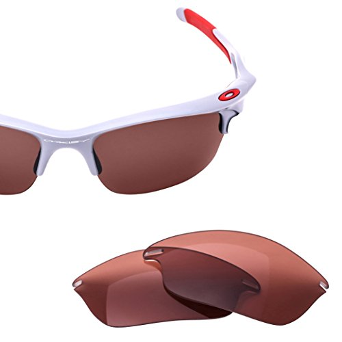 LenzFlip Replacement Lenses for Oakley FAST Jacket - Rose Polarized - Will Oakley Lenses Replace