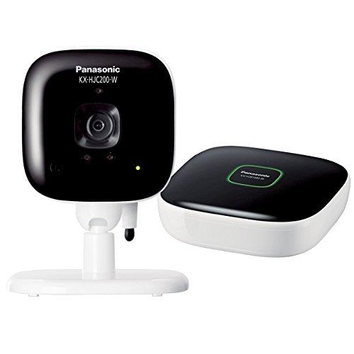 Panasonic home network system indoor camera kit KX-HJC200K-W [International Version, No Warranty]