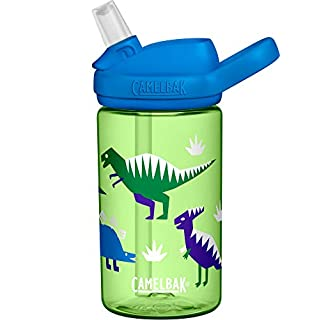 CamelBak Eddy+ Kids BPA-Free Water Bottle with Straw, 14oz, green, Model Number: 2282301040