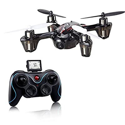 Holy Stone F180C Mini RC Quadcopter Drone with Camera 2.4GHz 6-Axis Gyro Bonus Battery and 8 Blades from HolyStone