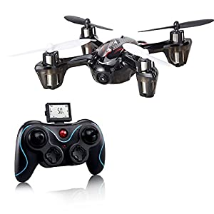 Holy Stone F180C Mini RC Quadcopter Drone with Camera 2.4GHz 6-Axis Gyro Bonus Battery and 8 Blades 41BOTQ2xmAL