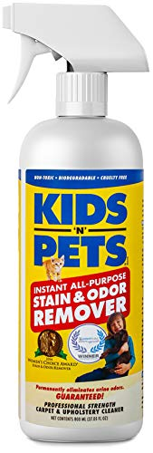 KIDS 'N' PETS Instant All-purpose Stain & Odor Remover - 27.05 oz. - (800 ml) | Proprietary Formula Permanently Eliminates Tough Stains & Odors - Even Urine Odors | Non-Toxic & Child Safe
