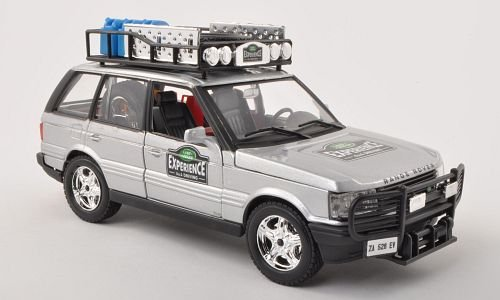 Land Rover Range Rover, Safari, silver, experience, 0, Model Car, Ready-made, Bburago 1:24 (Range Rover Sport Diecast 1 24 compare prices)