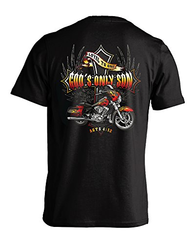 Gods Only Christian Biker T shirt product image