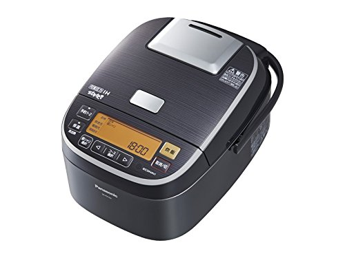 Panasonic 5.5 Go rice cooker pressure IH-type dance cook stainless black SR-PX104-K by Panasonic