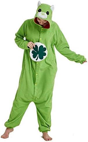 JIAWEIDAMAI - Pijama para Disfraz de Oso Verde para Cosplay ...
