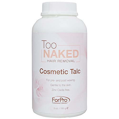 ForPro Too Naked Cosmetic Talc 5 Ounce, 5 Ounce